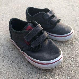 7T Vans Toddler Boys Grey Sneakers